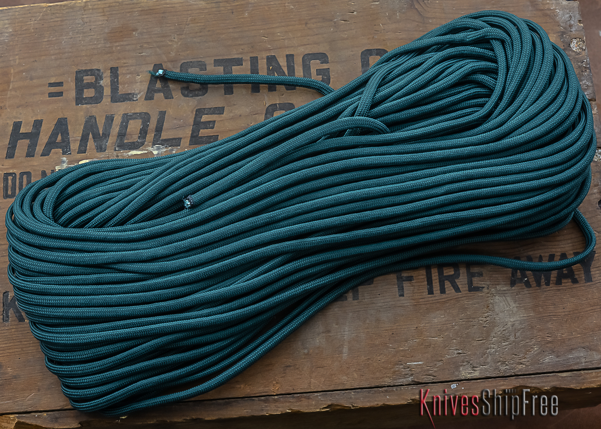 550 Paracord--100 ft--Dark Green primary image
