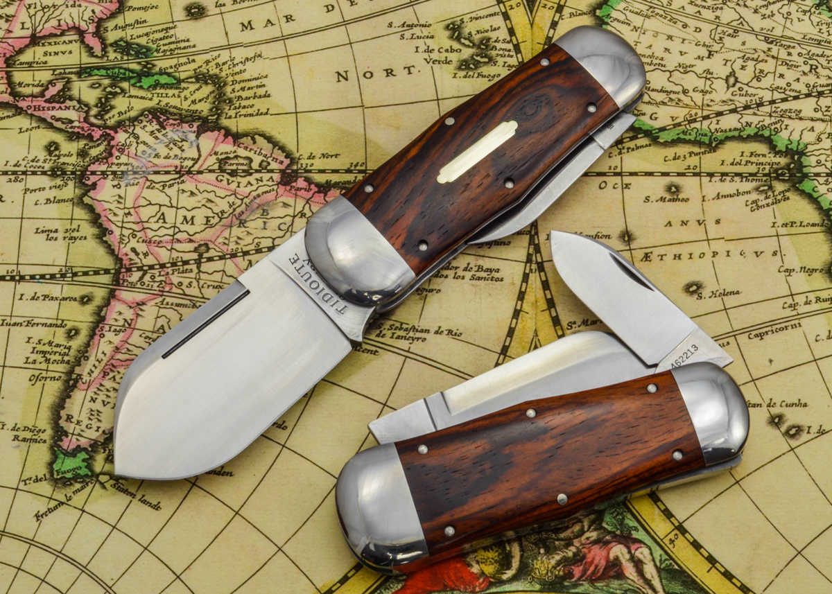 Great Eastern Cutlery: #46 Tidioute - Whaler - Cocobolo Wood - Unserialized primary image