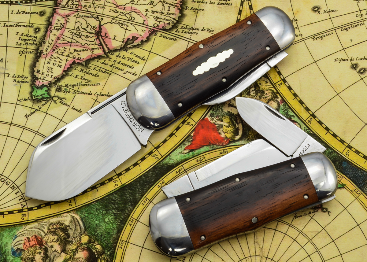 Great Eastern Cutlery: #46 Northfield Un-X-LD - Whaler - Ebony Wood - Unserialized primary image