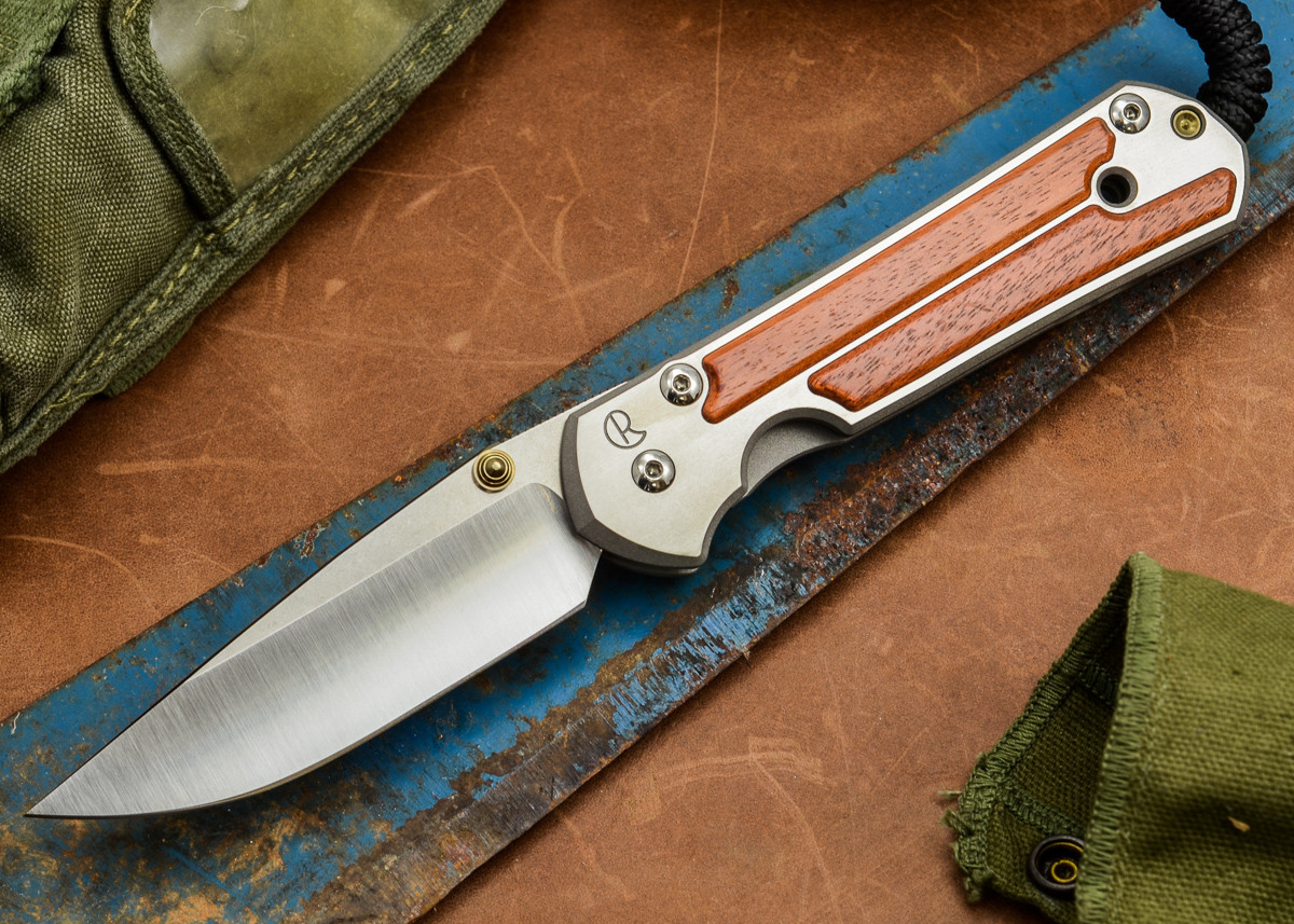 Chris Reeve Knives: Large Sebenza 21 - Amazon Bloodwood Inlay - C primary image