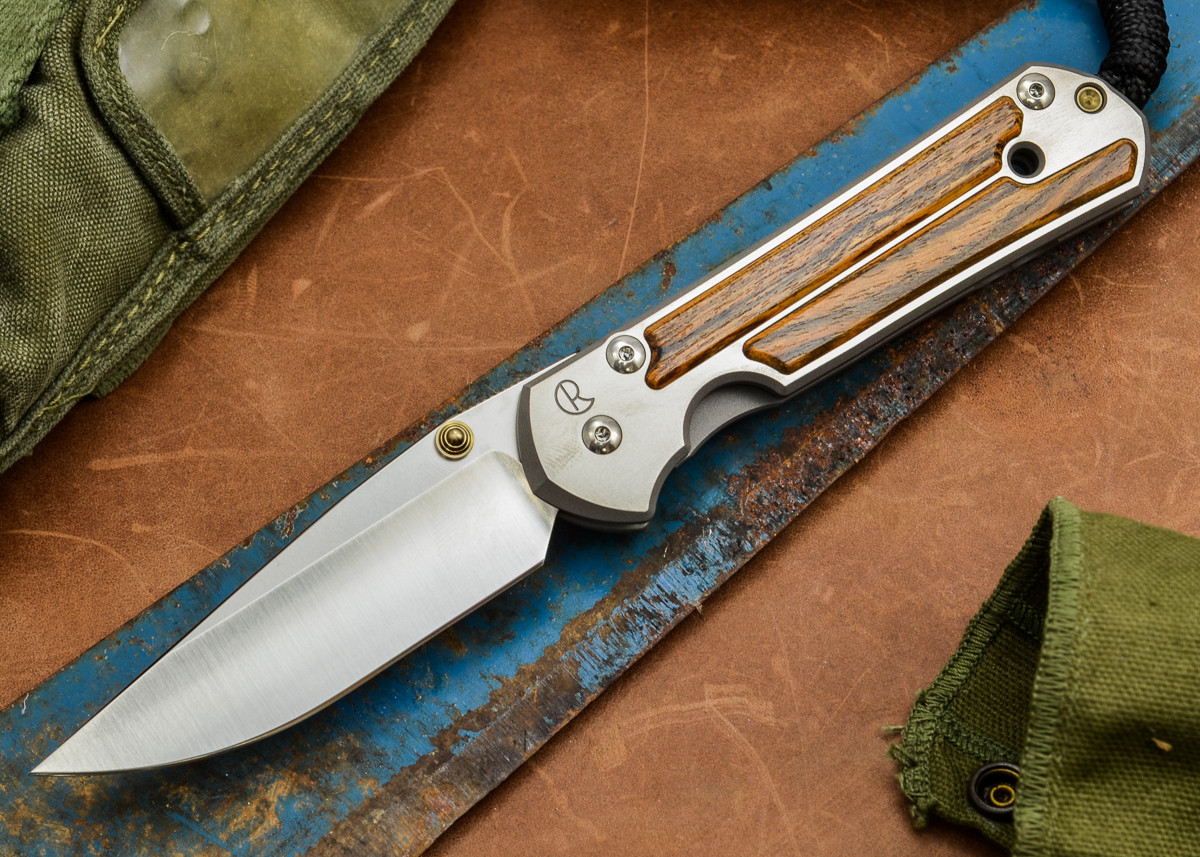 Chris Reeve Knives: Large Sebenza 21 - Bocote Inlay - F primary image