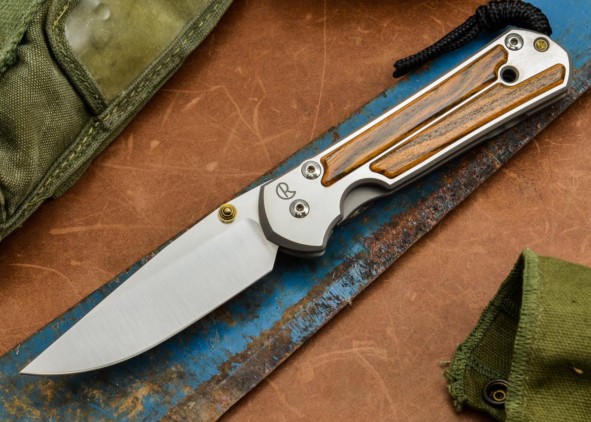 Chris Reeve Knives: Large Sebenza 21 - Bocote Inlay - H primary image