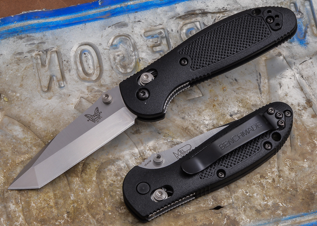 Benchmade Knives: 557 Mini Griptilian - Tanto primary image