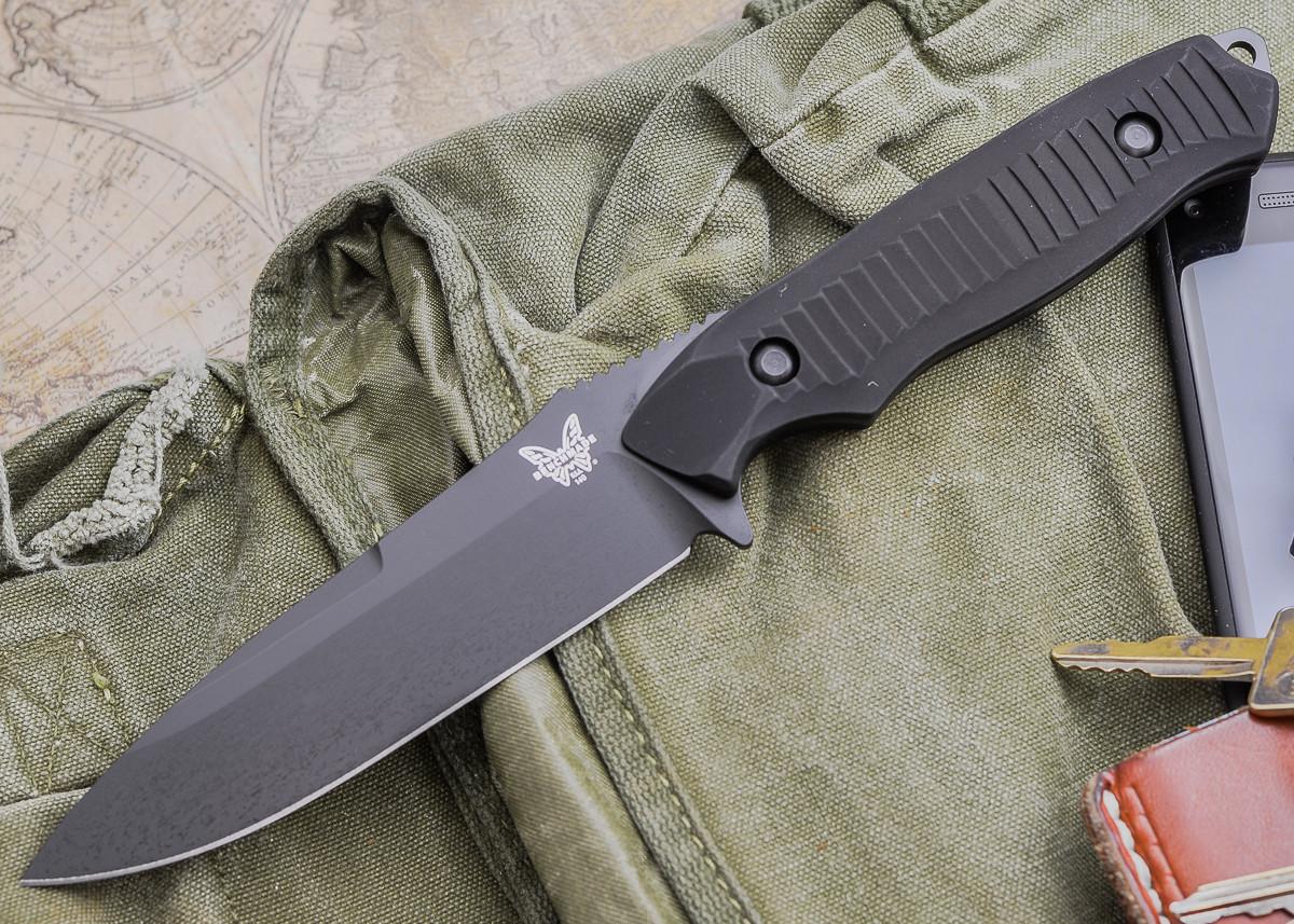 Benchmade Knives: 140BK Nimravus - Fixed Blade - Black Finish primary image