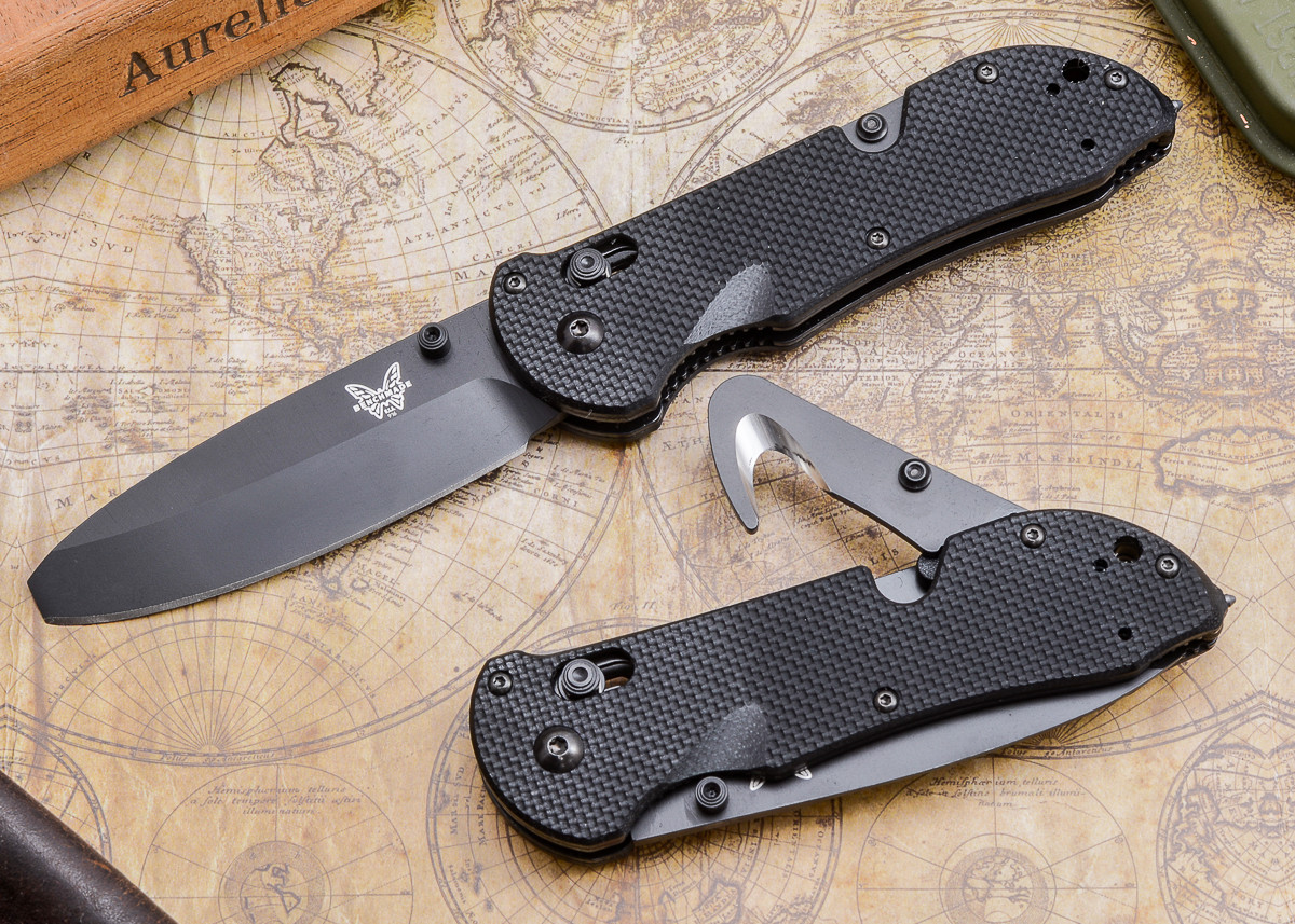 Benchmade Knives: 916BK Triage - Opposing Bevel primary image