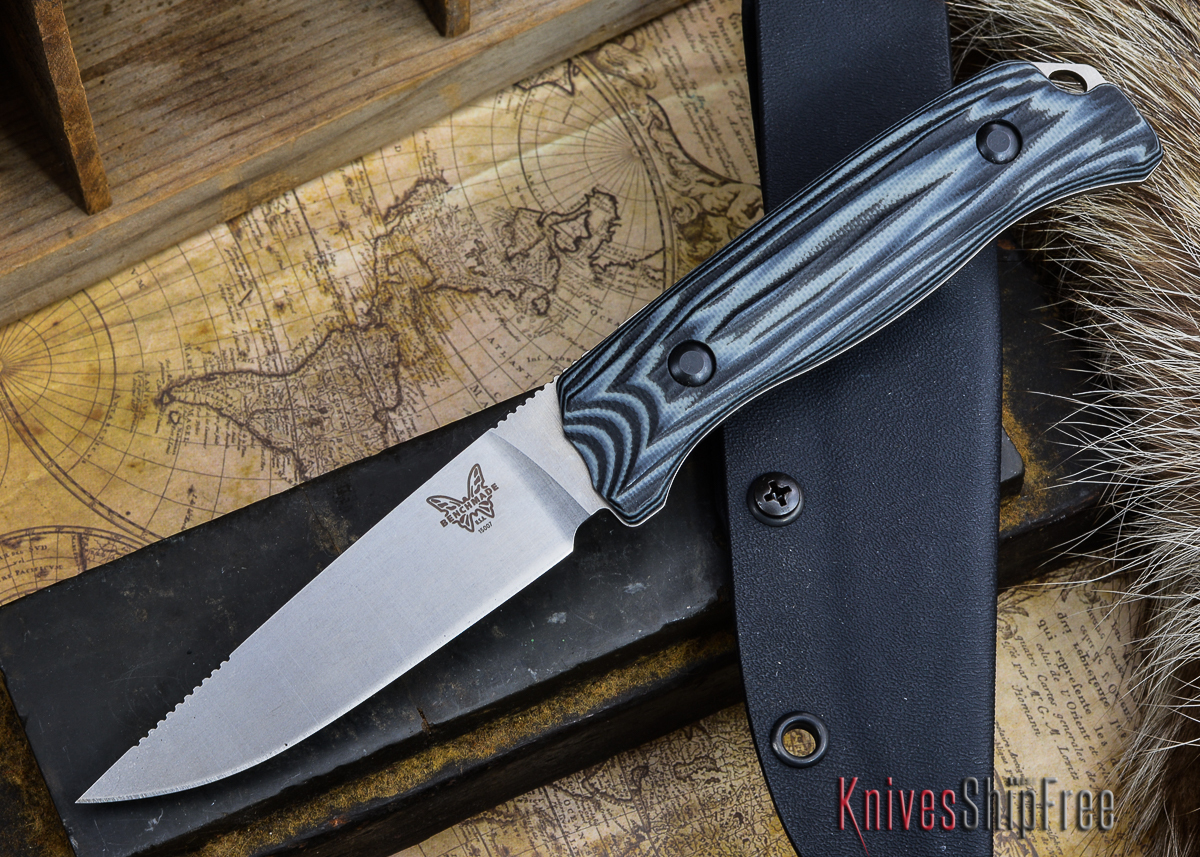 Benchmade Knives: 15007-1 HUNT - Saddle Mountain Hunter - G-10 primary image