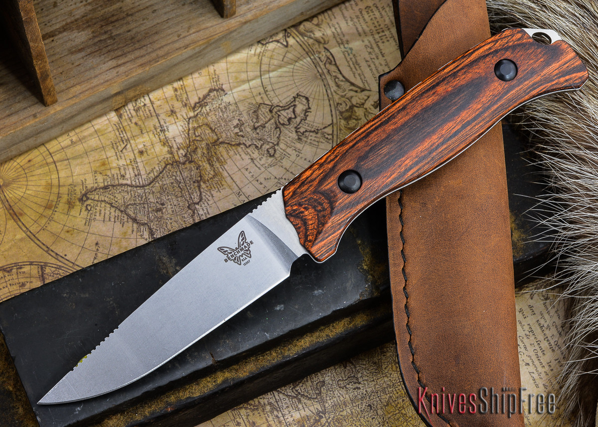 Benchmade Knives: 15007-2 HUNT - Saddle Mountain Hunter - Stabilized Wood primary image