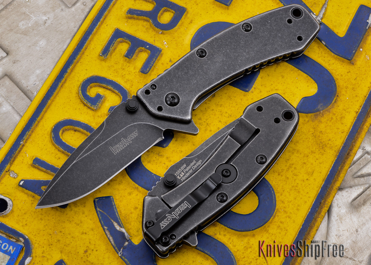 Kershaw Knives: Cryo - Blackwash Finish - 1555BW primary image