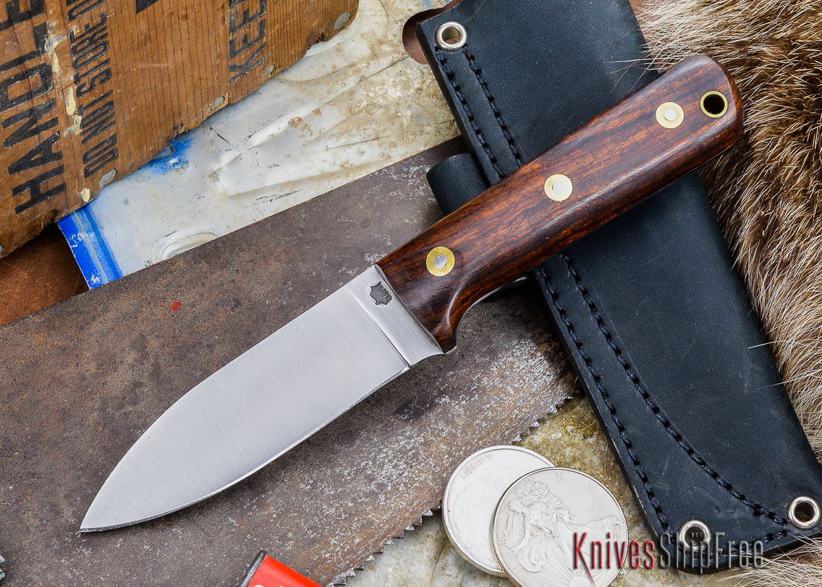 L.T. Wright Knives: Genesis - Desert Ironwood - Flat Ground - A2 Steel - #48 primary image