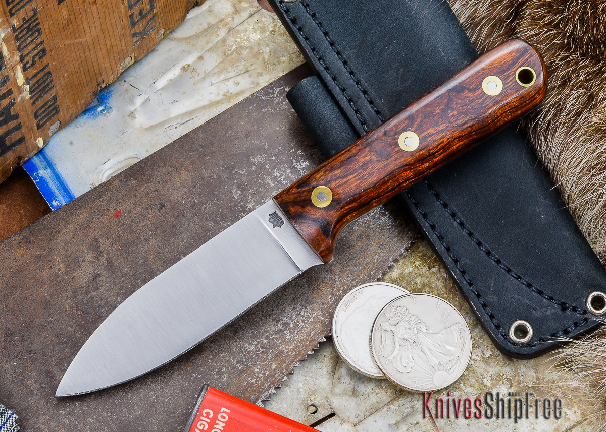 L.T. Wright Knives: Genesis - Desert Ironwood - Flat Ground - A2 Steel - #59 primary image