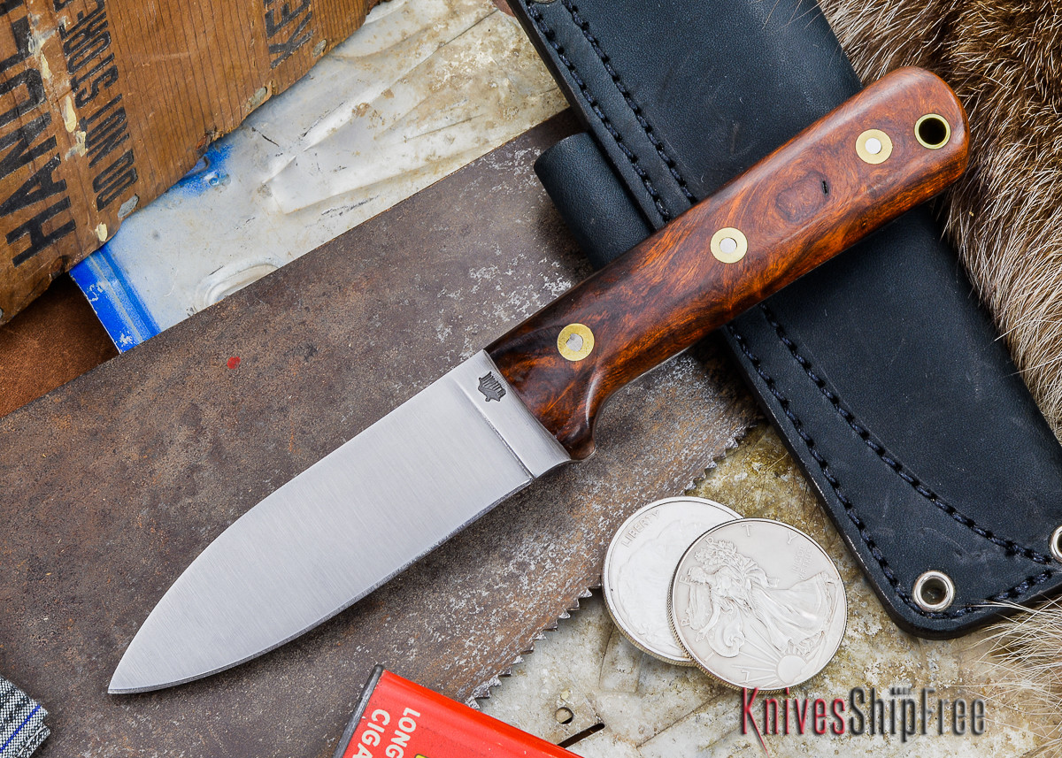 L.T. Wright Knives: Genesis - Desert Ironwood - Flat Ground - A2 Steel - #63 primary image