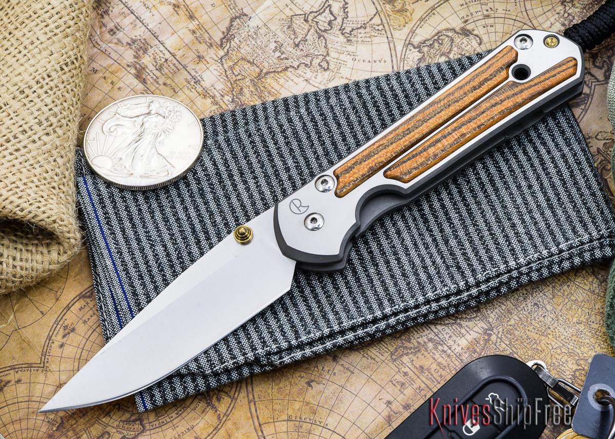 Chris Reeve Knives: Large Sebenza 21 - Bocote Inlay - P primary image