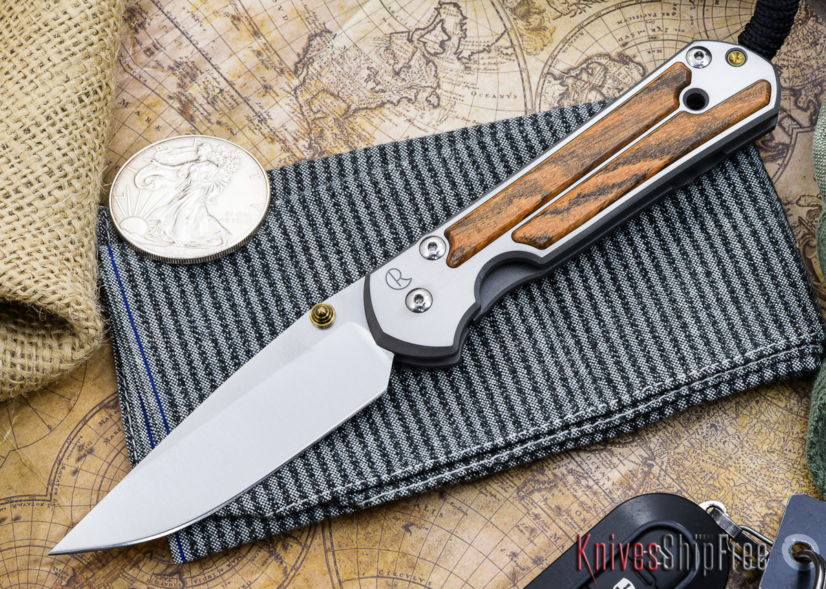 Chris Reeve Knives: Large Sebenza 21 - Bocote Inlay - Q primary image