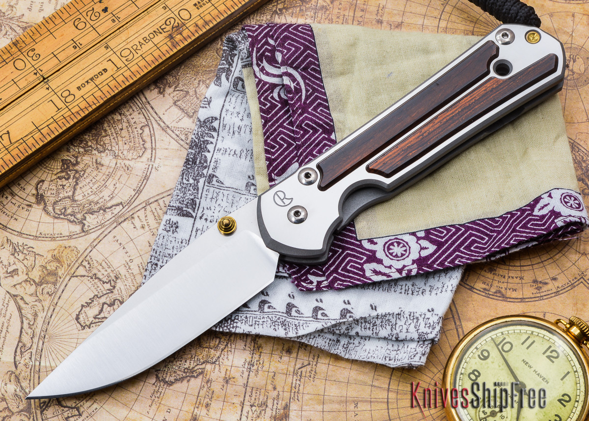 Chris Reeve Knives: Large Sebenza 21 - Cocobolo - D primary image