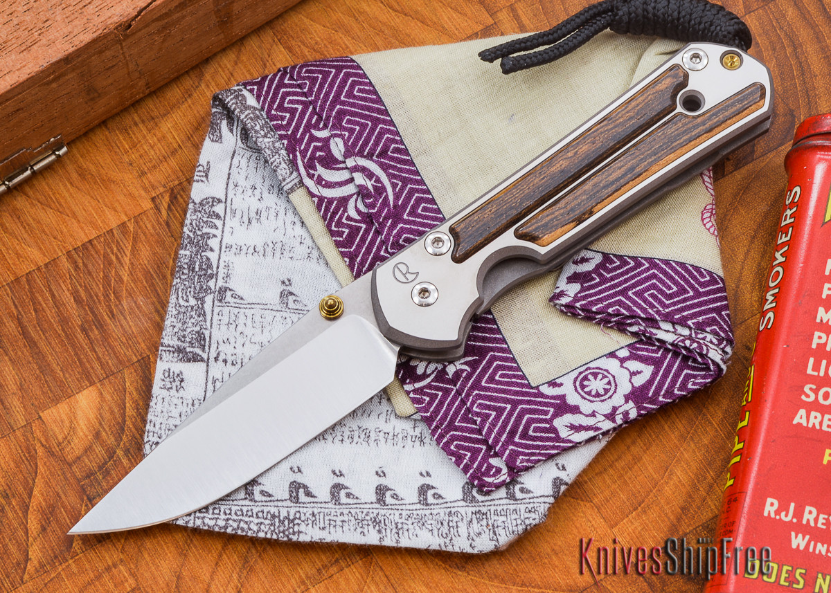 Chris Reeve Knives: Small Sebenza 21 - Bocote - L primary image
