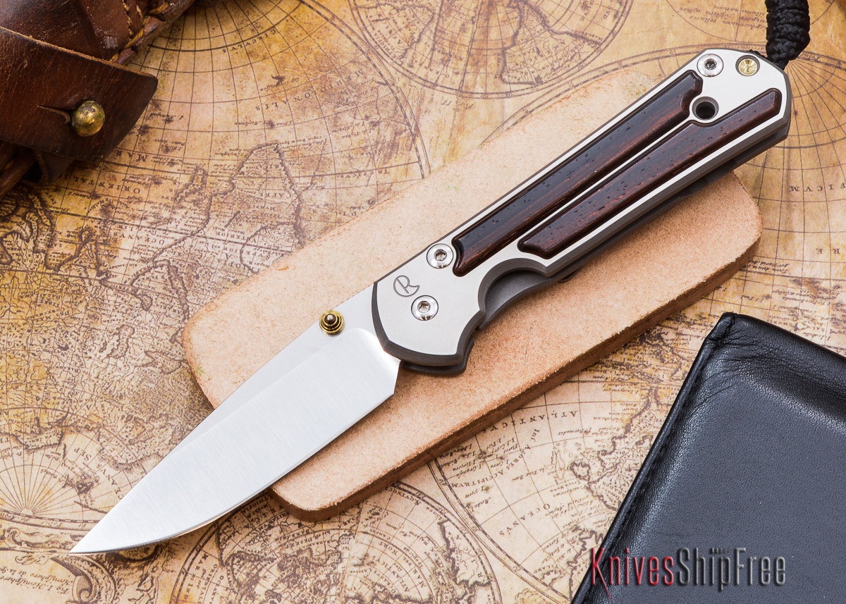 Chris Reeve Knives: Small Sebenza 21 - Cocobolo - D