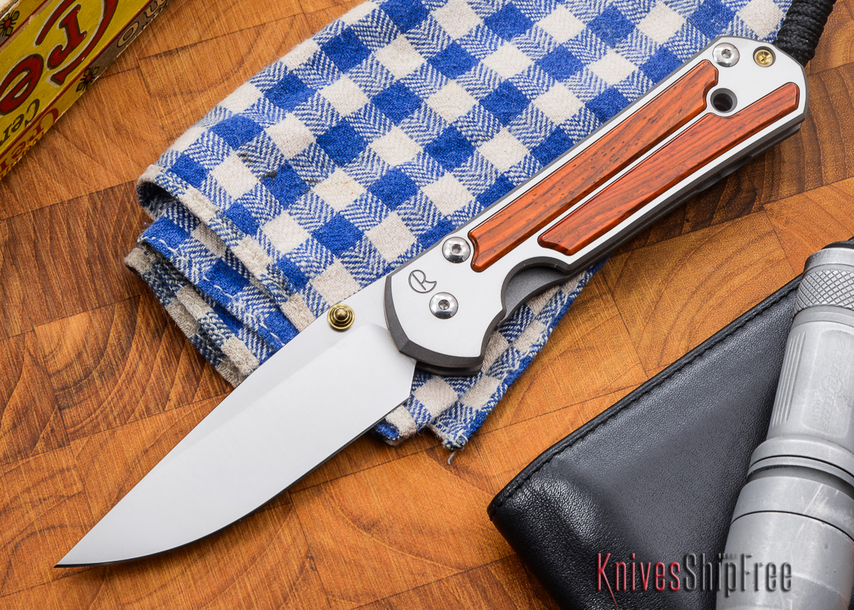 Chris Reeve Knives: Large Sebenza 21 - Cocobolo - M primary image