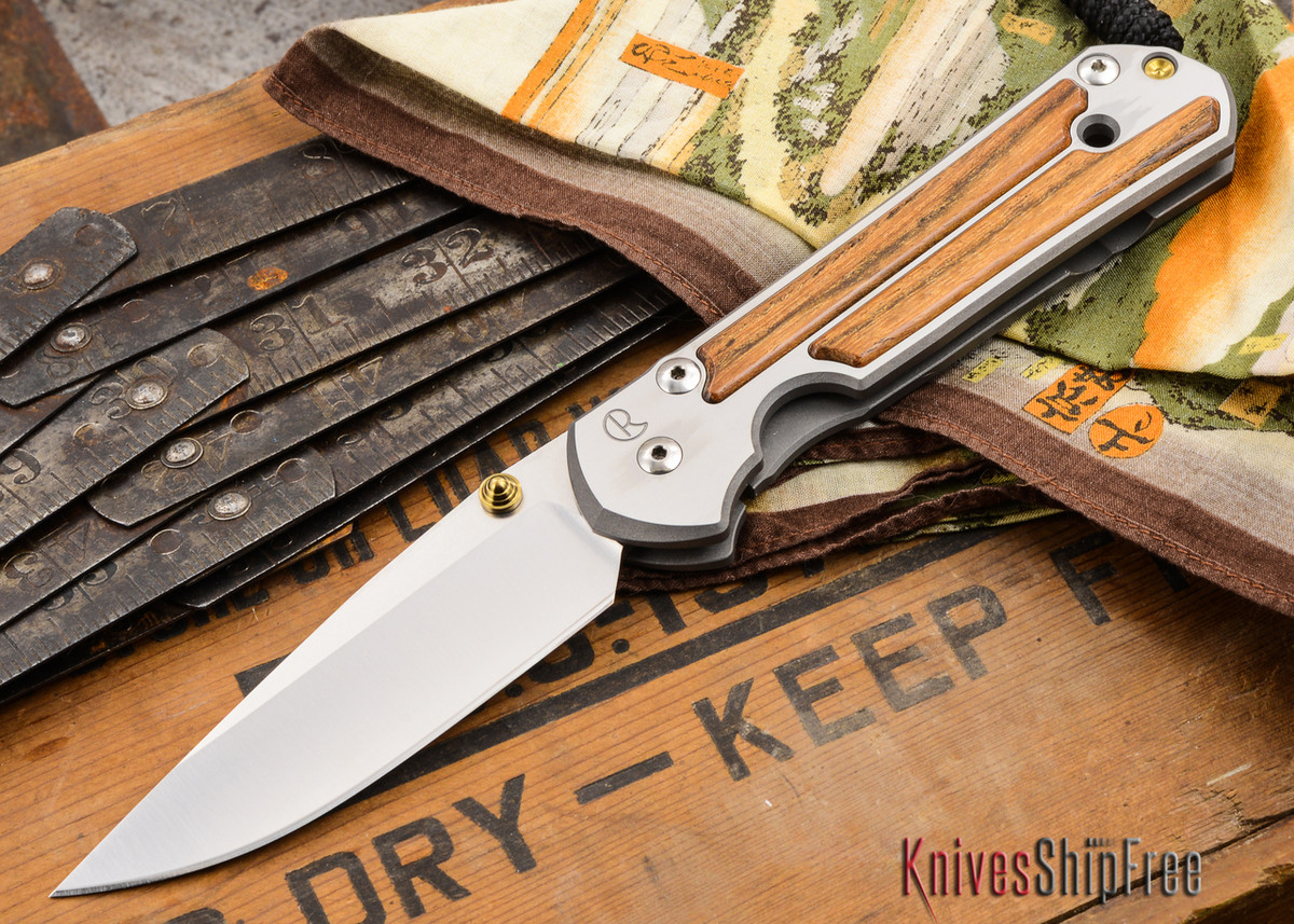 Chris Reeve Knives: Large Sebenza 21 - Bocote Inlay - U primary image