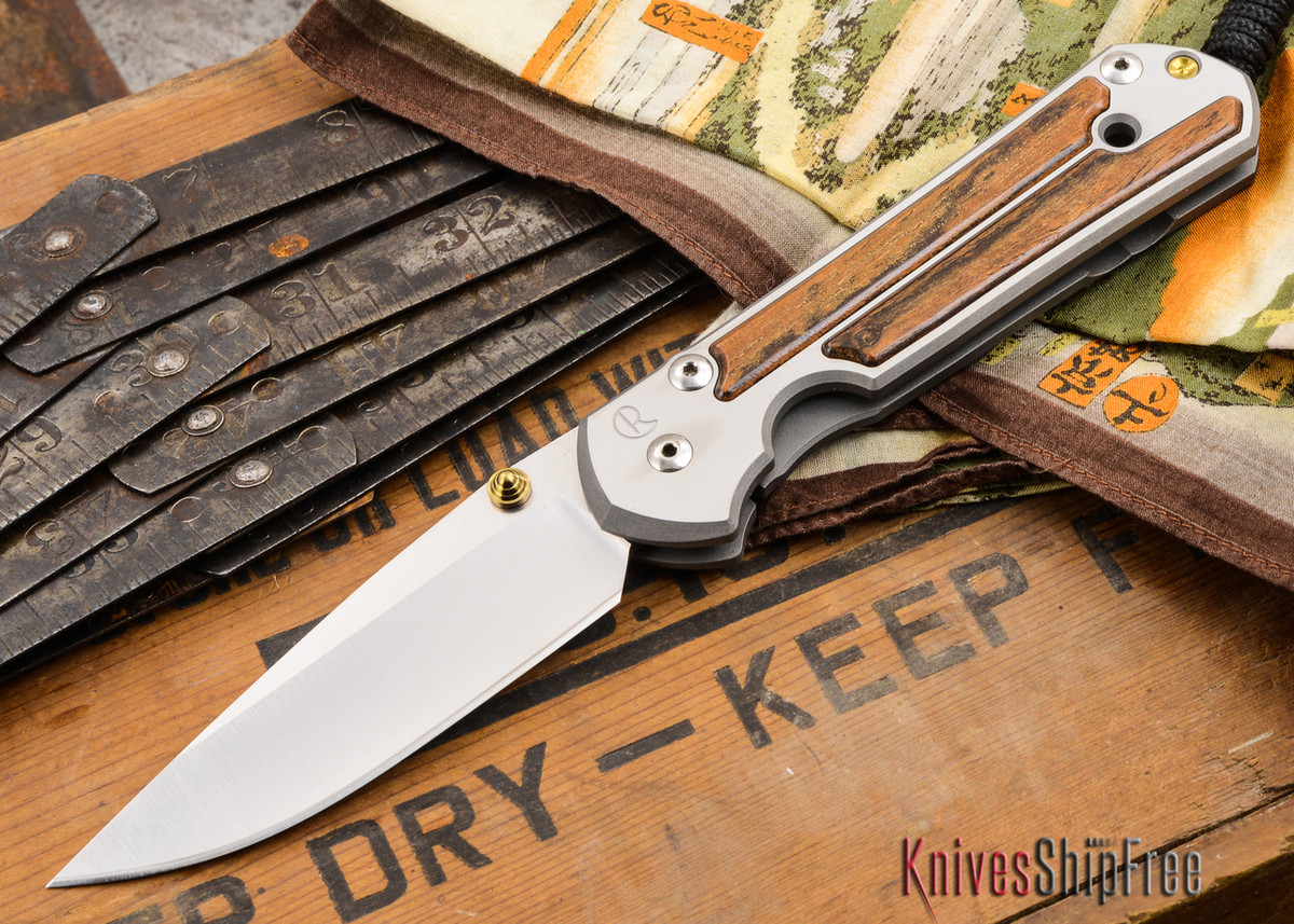 Chris Reeve Knives: Large Sebenza 21 - Bocote Inlay - V primary image