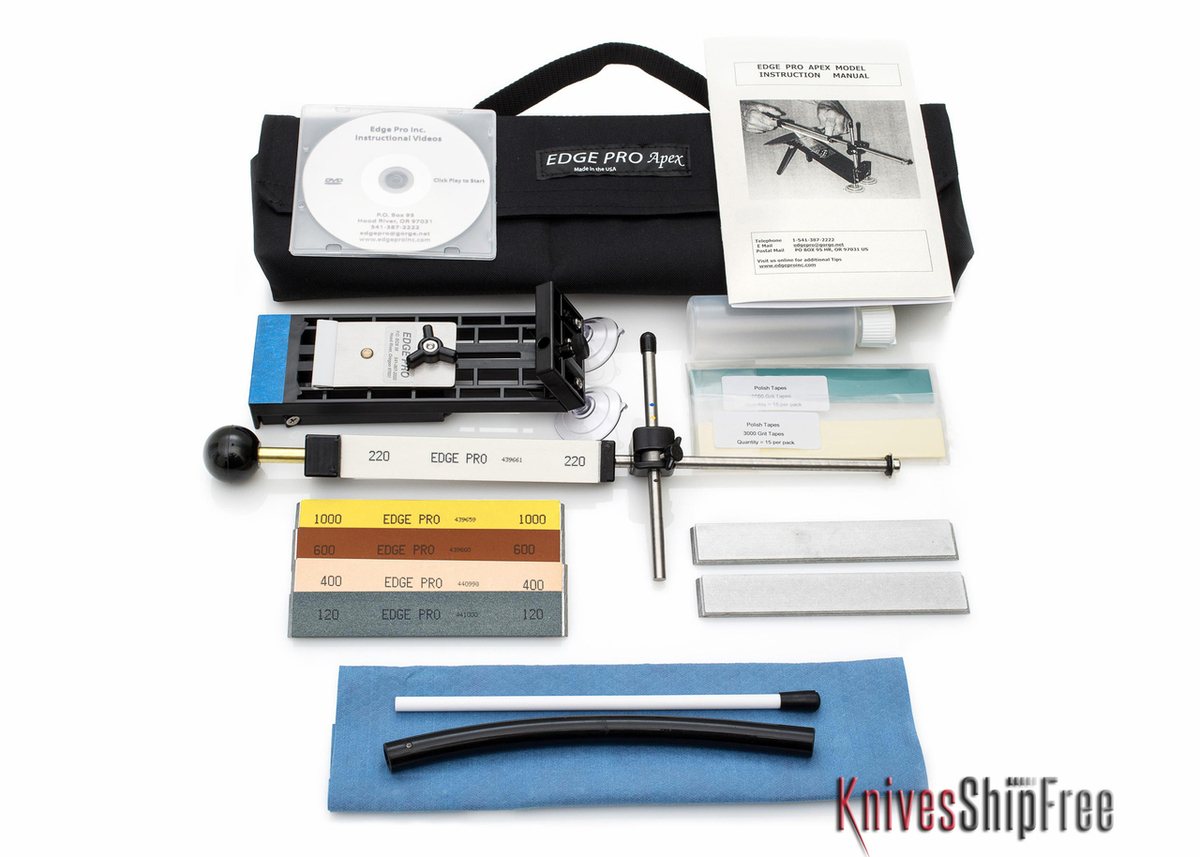 Edge Pro: Apex 4 Kit - Apex Model Sharpening System primary image