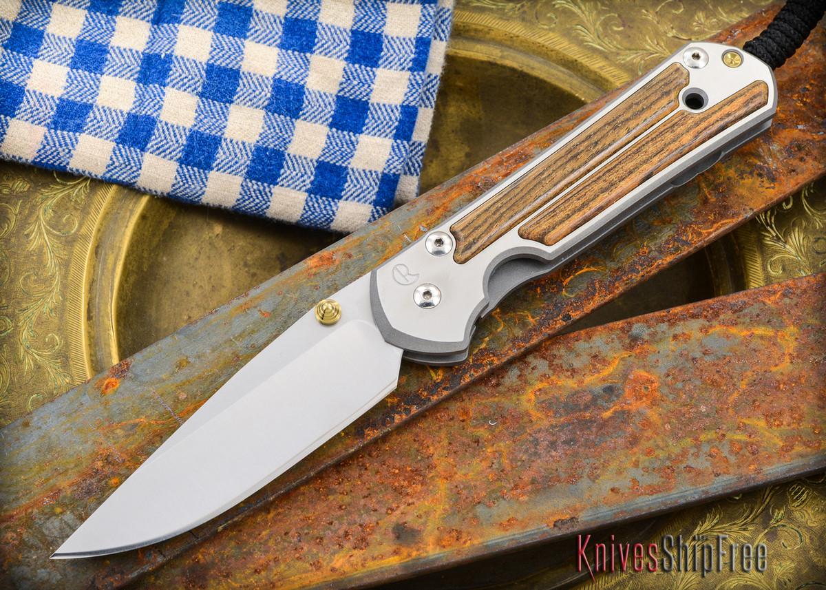 Chris Reeve Knives: Large Sebenza 21 - Bocote Inlay - 011302 primary image