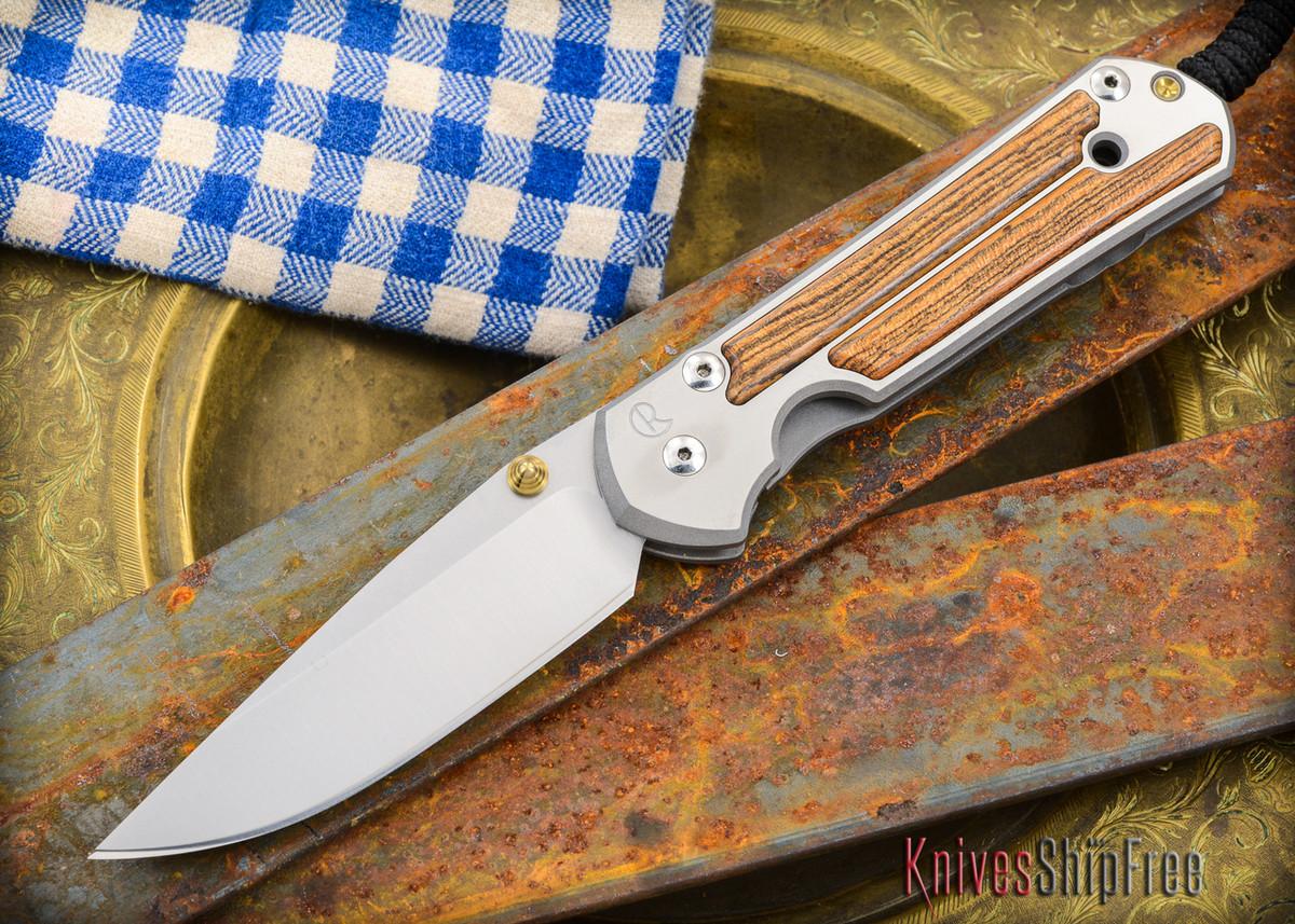 Chris Reeve Knives: Large Sebenza 21 - Bocote Inlay - 011305 primary image