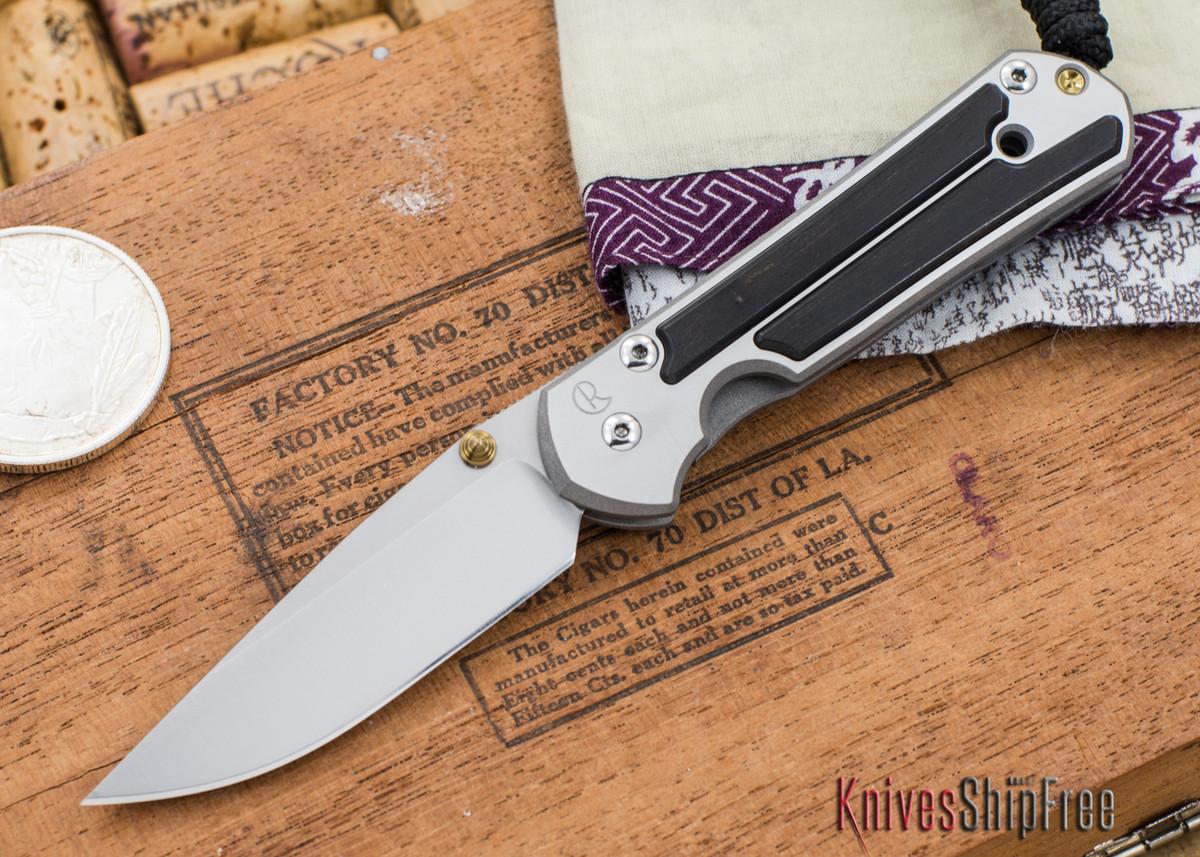 Chris Reeve Knives: Small Sebenza 21 - Gabon Ebony Inlay - 030301 primary image