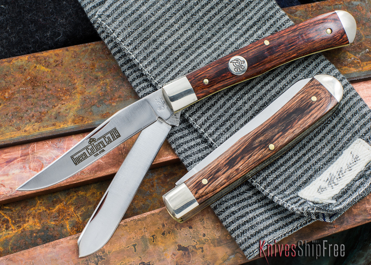 Queen Cutlery: #19 - Large Trapper - American Walnut primary image