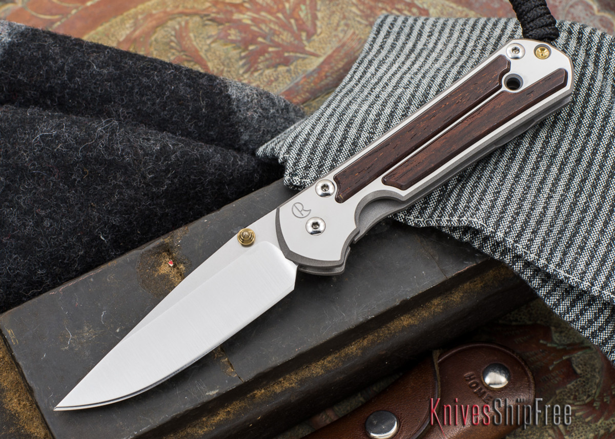 Chris Reeve Knives: Small Sebenza 21 - Cocobolo - 040302 primary image