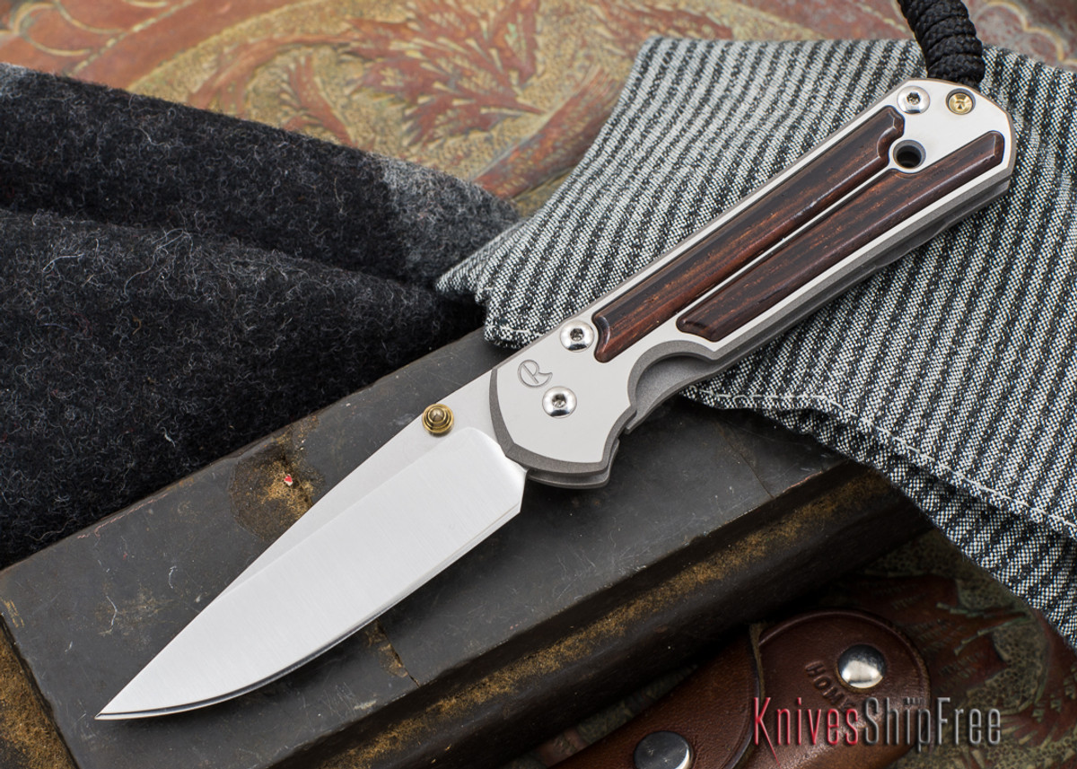Chris Reeve Knives: Small Sebenza 21 - Cocobolo - 040303 primary image