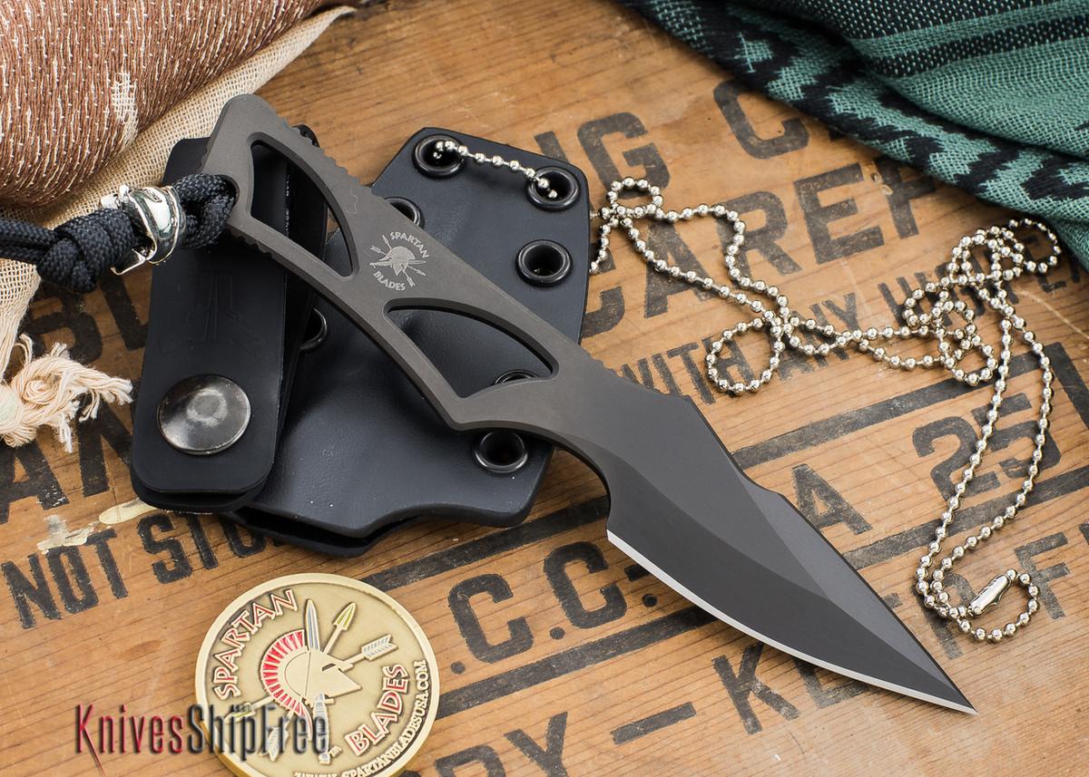 Spartan Blades: Enyo - Black Blade - IWB Kydex Sheath primary image