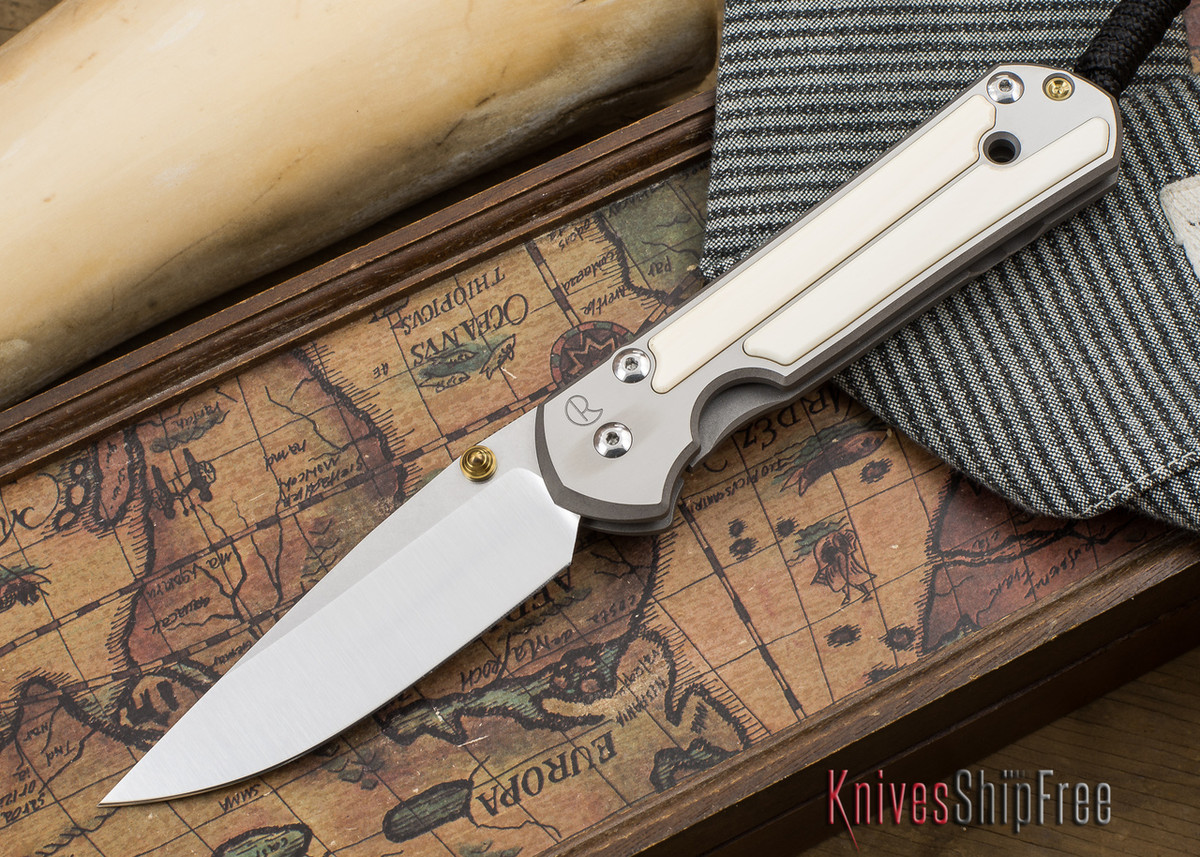 Chris Reeve Knives: Large Sebenza 21 - Mammoth Ivory Inlay - 050503 primary image