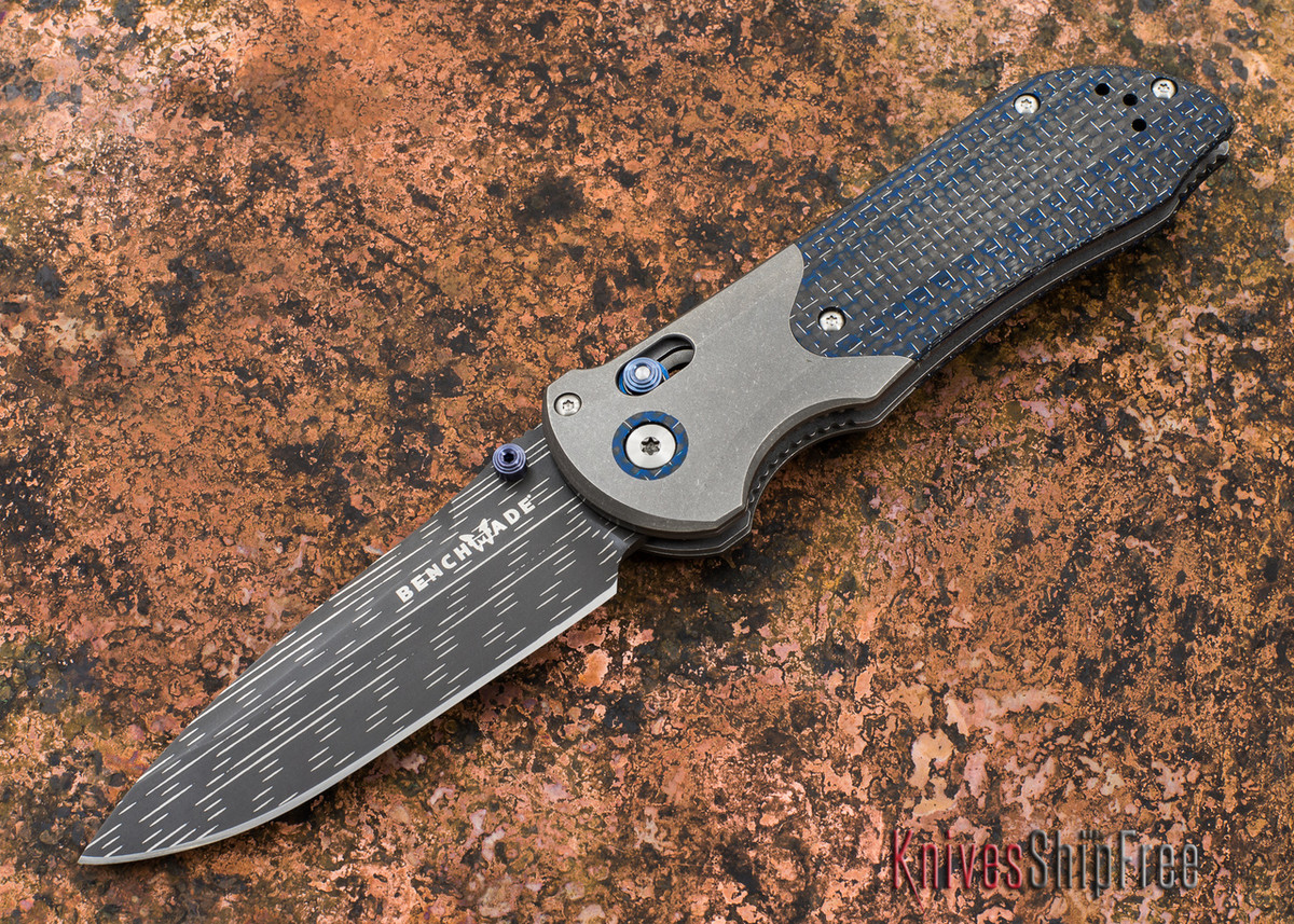 Benchmade Knives: 908-151 Axis Stryker II - Damascus - Carbon Fiber primary image