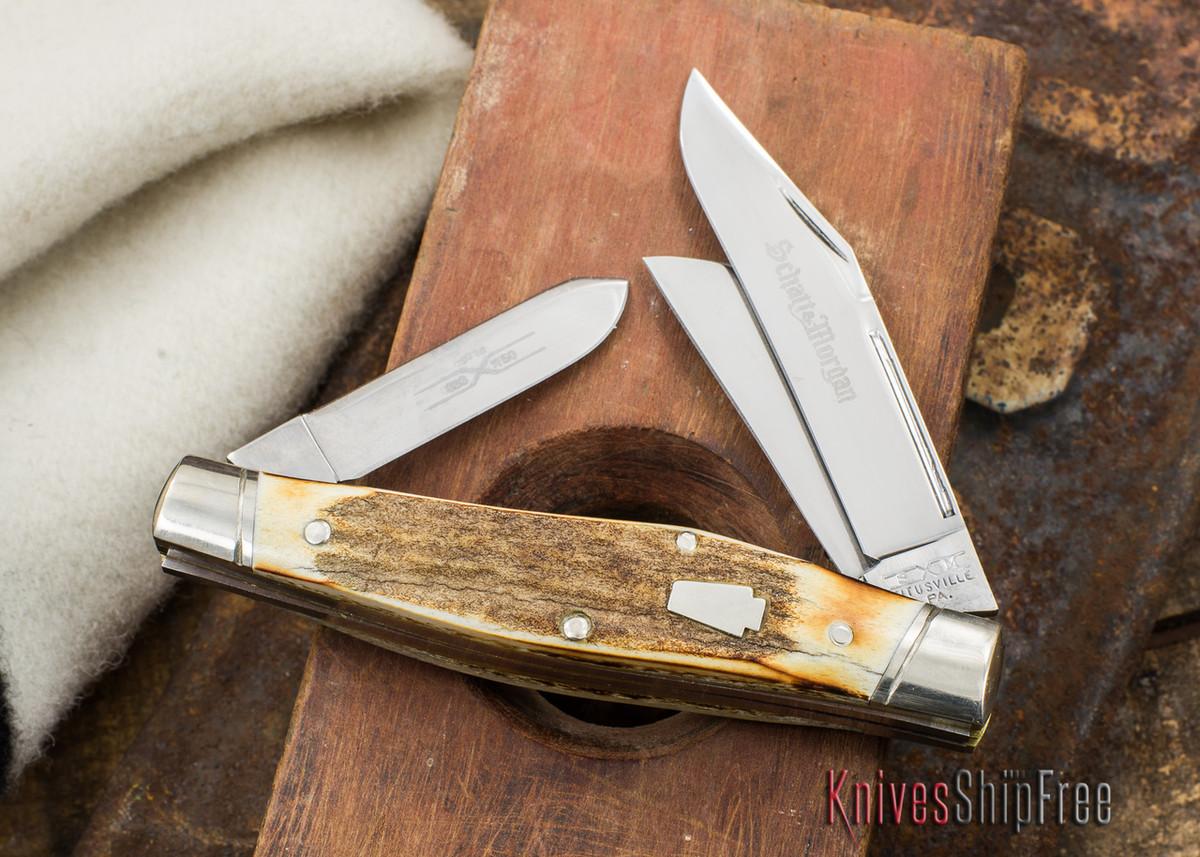 Schatt & Morgan Keystone: Reverse Gunstock - Genuine Stag - 033150 - II primary image