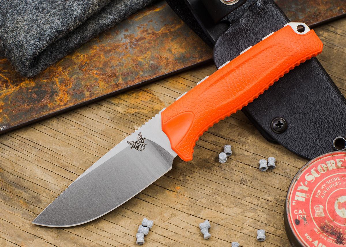 Benchmade Knives: 15008-ORG HUNT - Steep Country Hunter - Orange Santoprene primary image