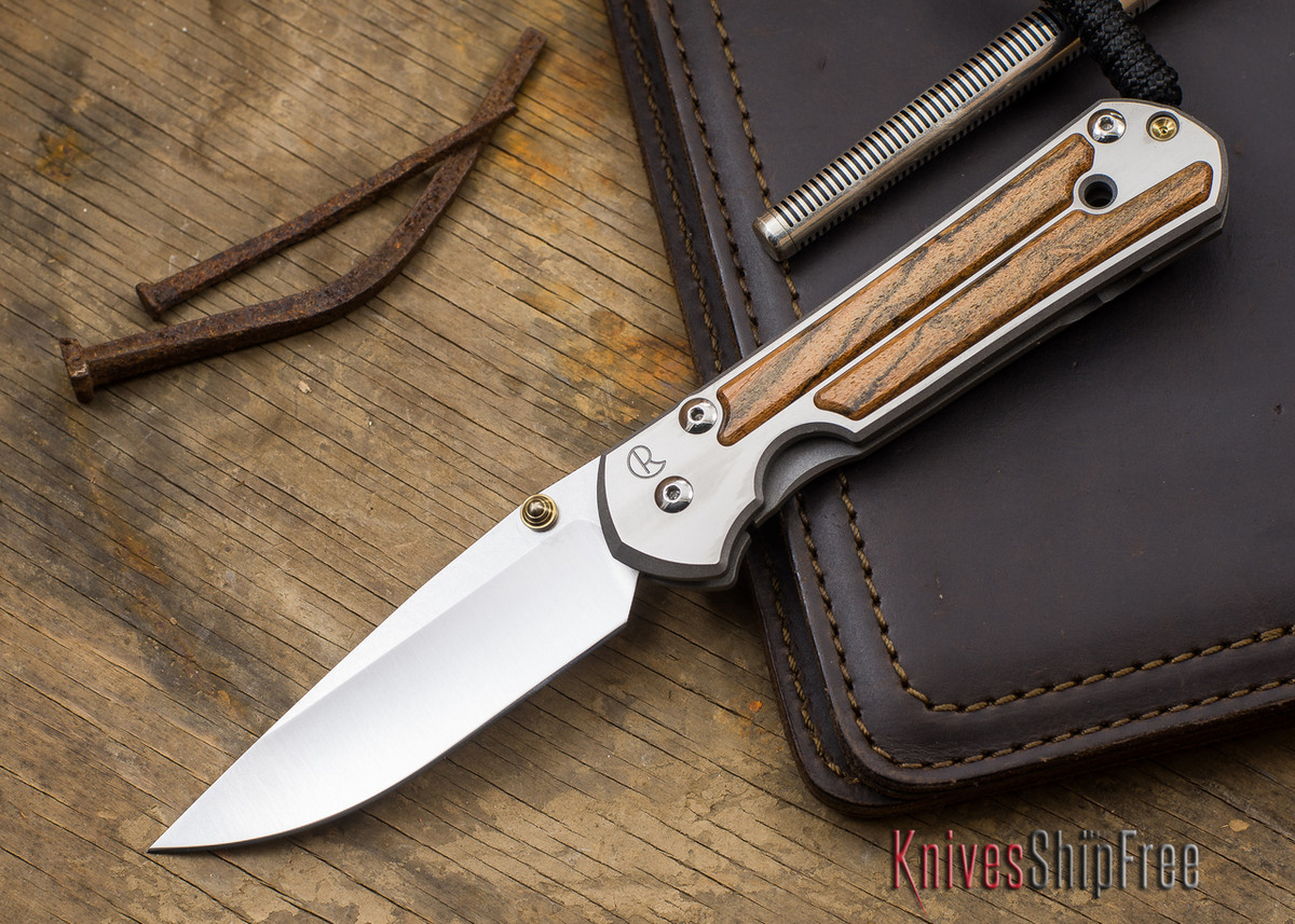 Chris Reeve Knives: Large Sebenza 21 - Bocote Inlay - 091402 primary image
