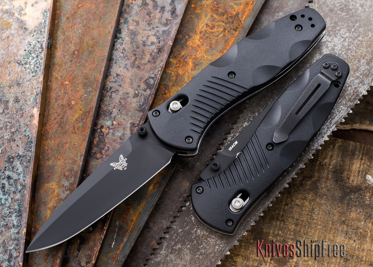 Benchmade Knives: 580BK Barrage - Black Blade primary image