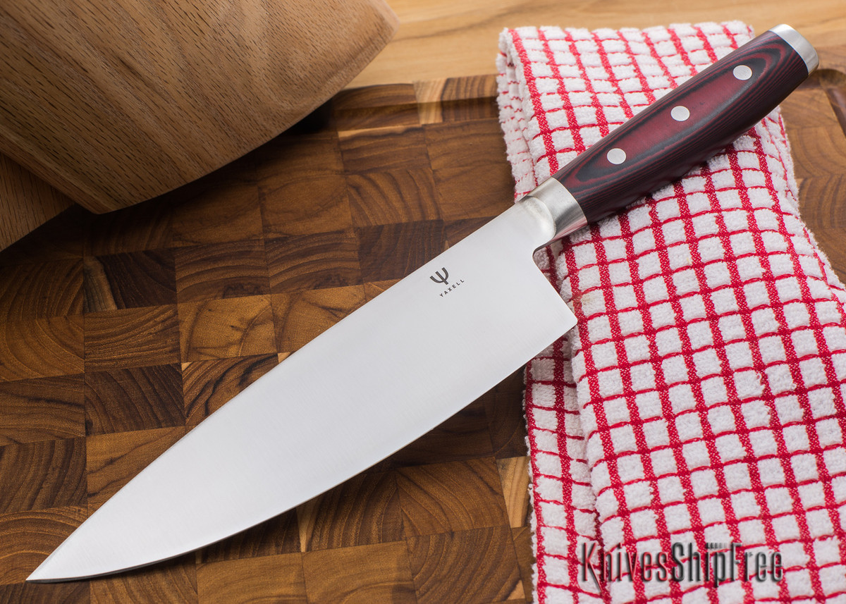 "Yaxell: Red Dragon - 8"" Chef's Knife primary image"