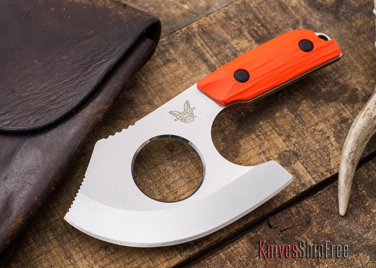 Benchmade Knives: 15100-1 - Nestucca - Orange G-10 - CPM S30V primary image