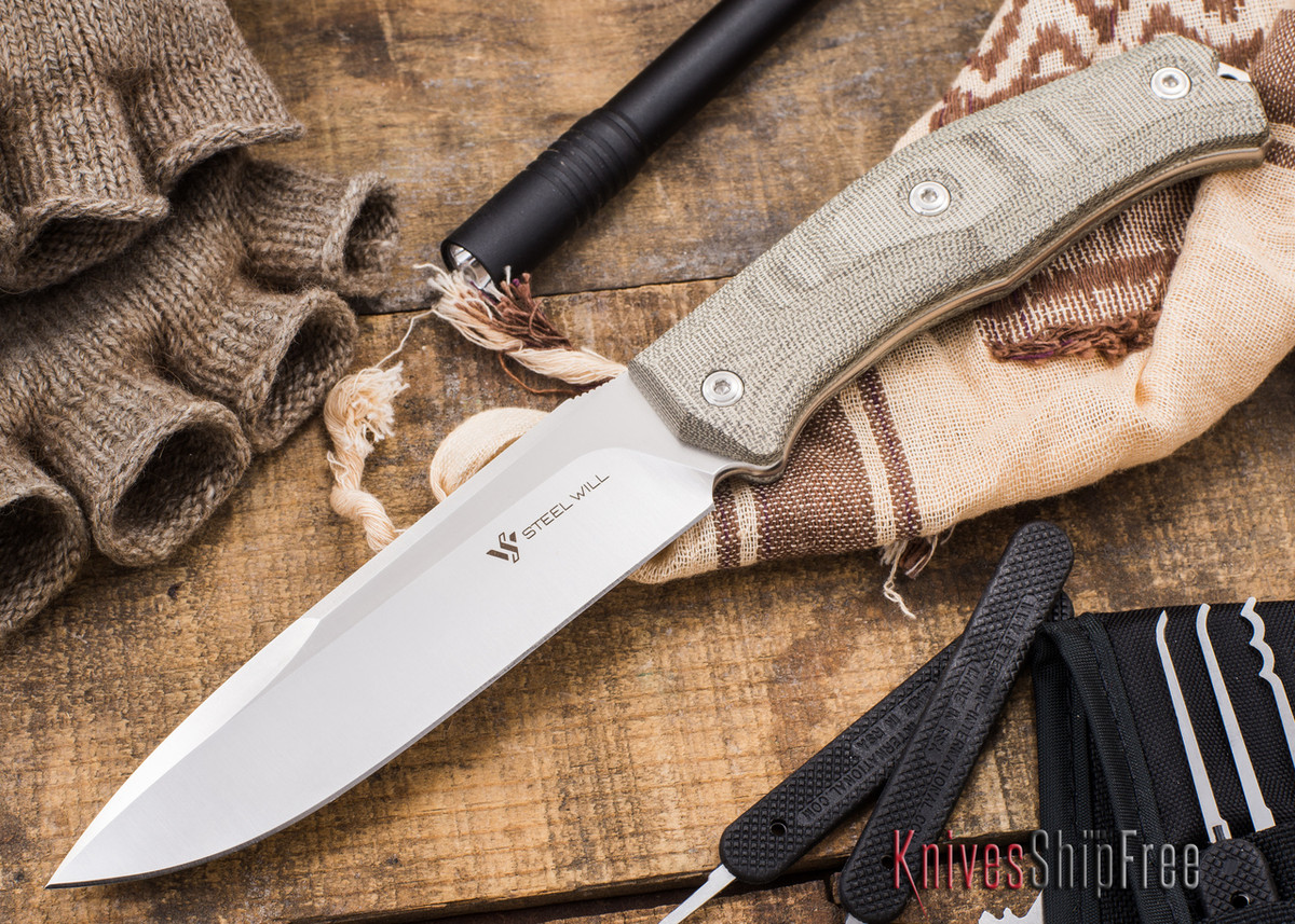 Steel Will Knives: Gekko 1530 Fixed Blade primary image