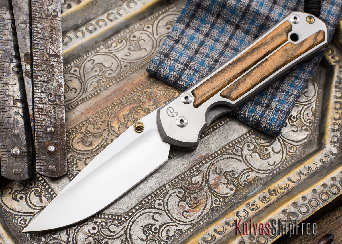 Chris Reeve Knives: Large Sebenza 21 - Bocote Inlay - 051901 primary image