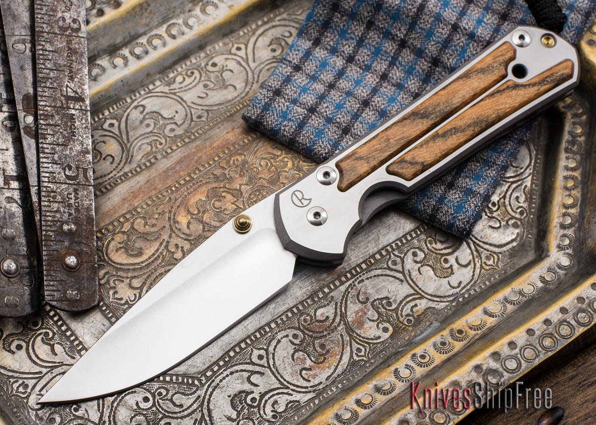 Chris Reeve Knives: Large Sebenza 21 - Bocote Inlay - 051905 primary image