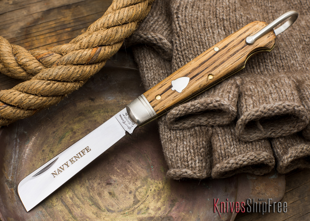 Great Eastern Cutlery: #15 - Navy Knife - Old Barn Chestnut - O primary image