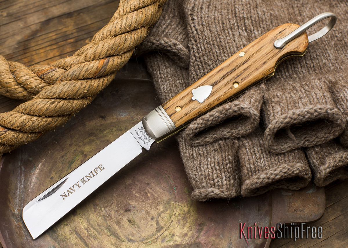 Great Eastern Cutlery: #15 - Navy Knife - Old Barn Chestnut - R primary image