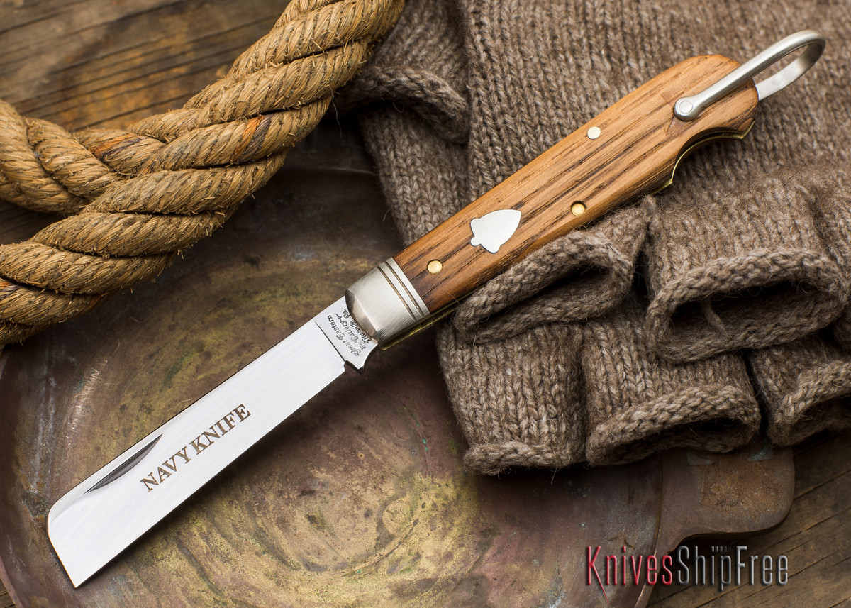 Great Eastern Cutlery: #15 - Navy Knife - Old Barn Chestnut - PP primary image