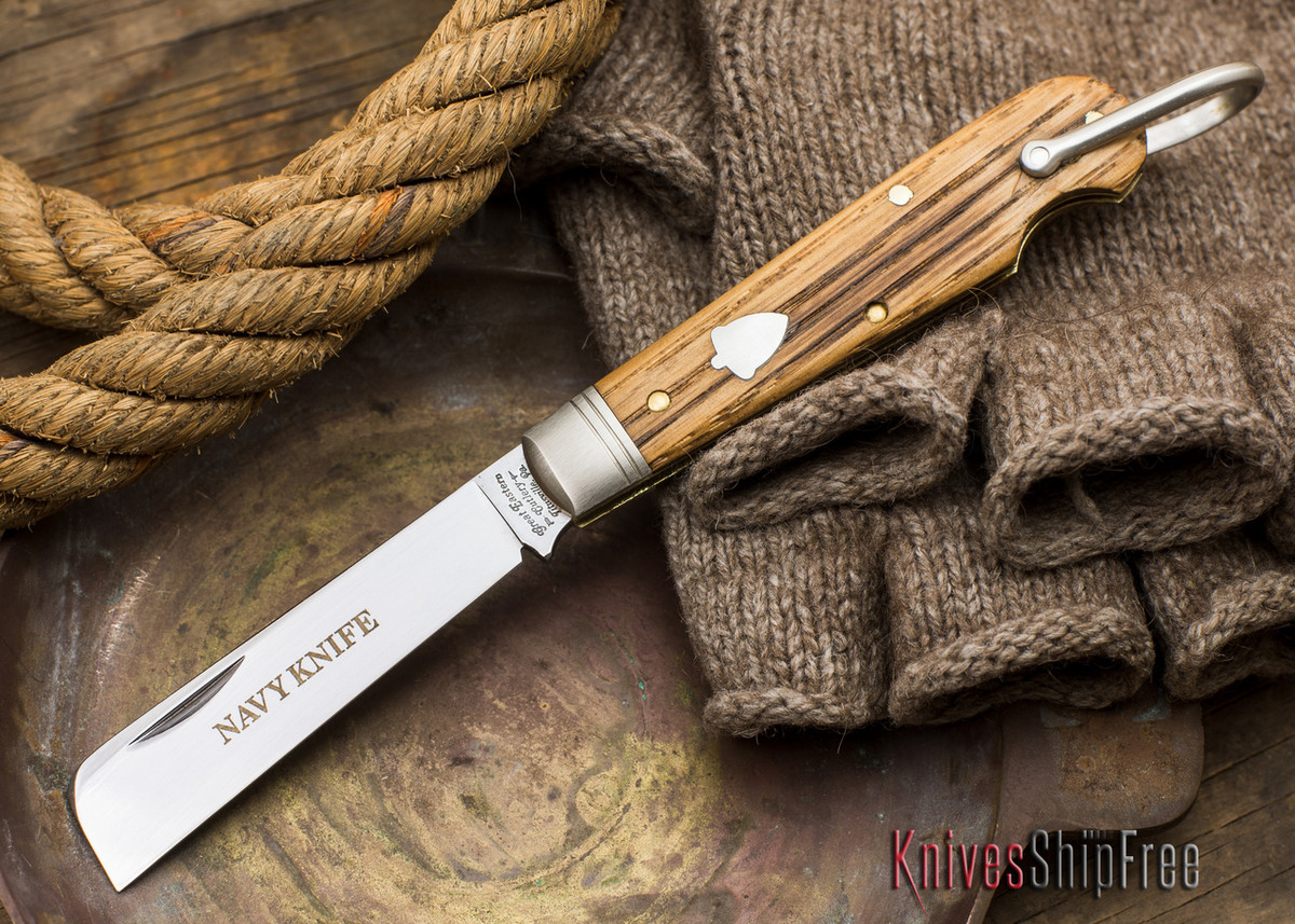 Great Eastern Cutlery: #15 - Navy Knife - Old Barn Chestnut - QQ primary image