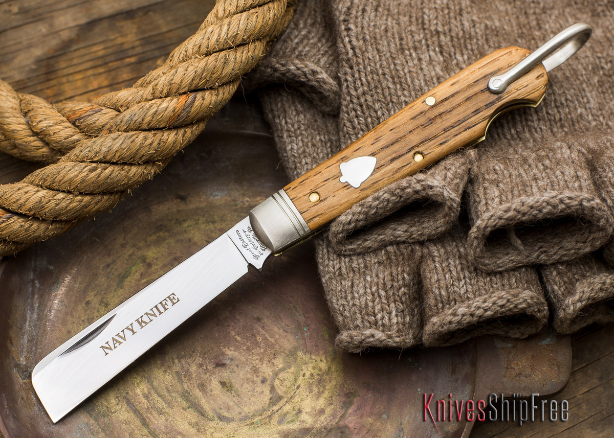 Great Eastern Cutlery: #15 - Navy Knife - Old Barn Chestnut - WW primary image
