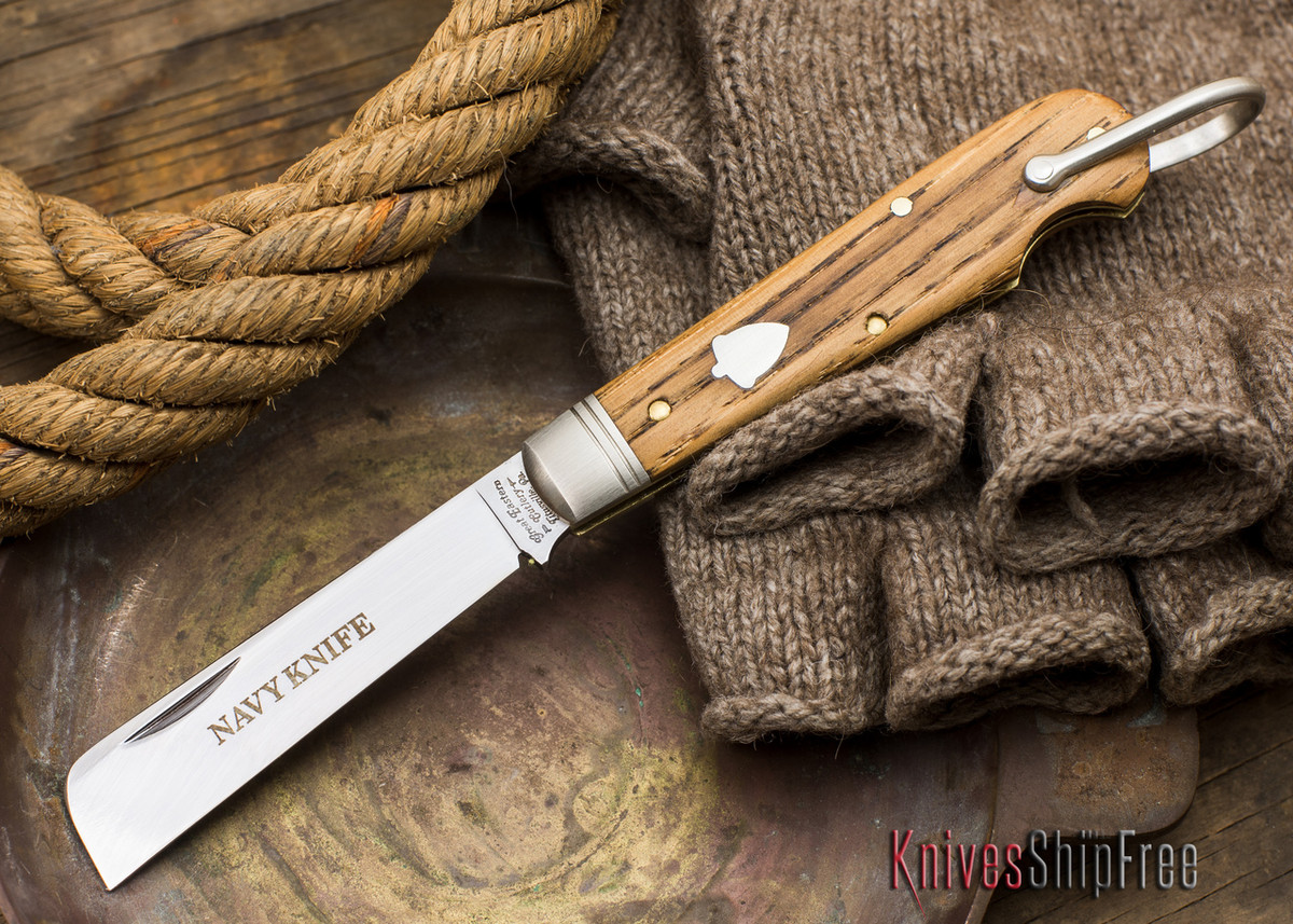 Great Eastern Cutlery: #15 - Navy Knife - Old Barn Chestnut - ZZ primary image