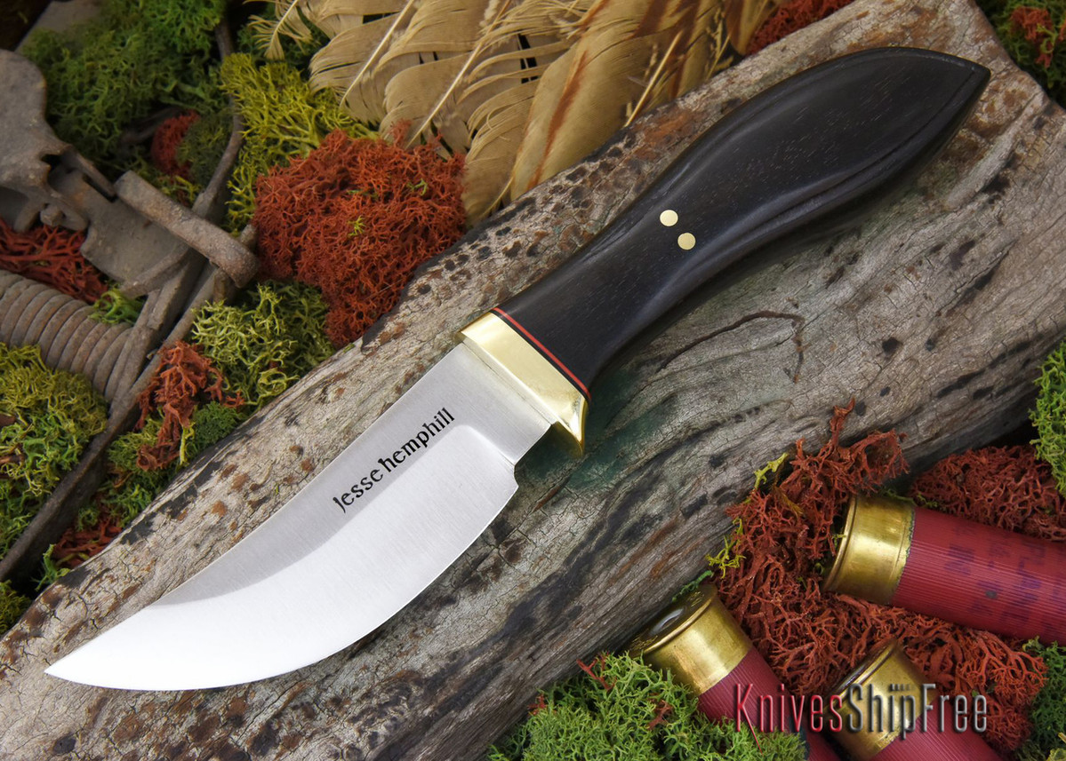 Jesse Hemphill Knives: DeKalb Series - High Falls - African Blackwood primary image