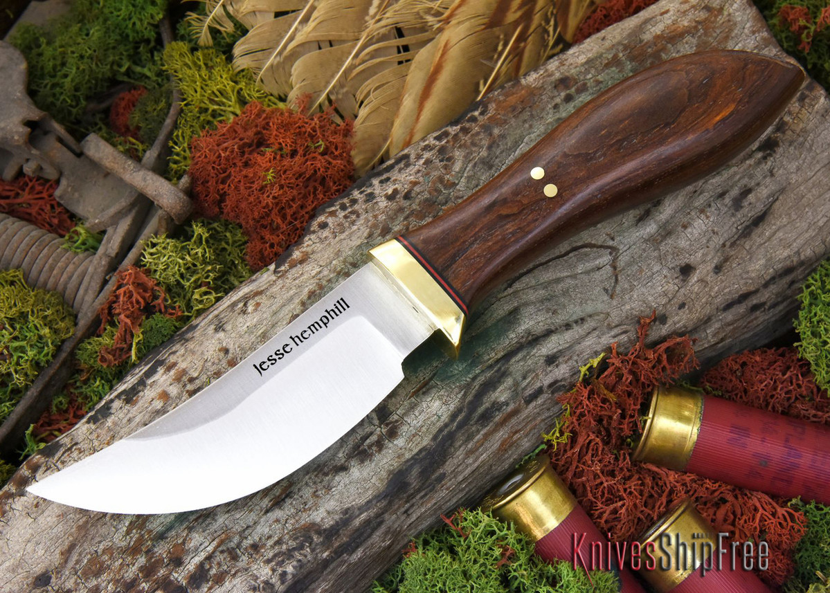 Jesse Hemphill Knives: DeKalb Series - High Falls - Cocobolo - #2 primary image